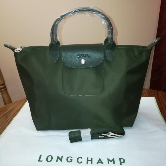 new concept 05a47 61af4 Longchamp Handbags - LONGCHAMP Le Pliage NEO Loden Green  549 NEW